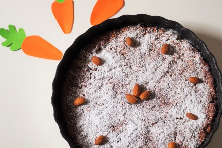 Karottenkuchen, carrots cake