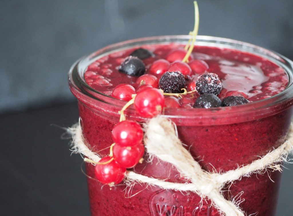 Vegan Berry Smoothie